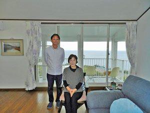熱海市の海を一望する中古住宅をご購入のS様